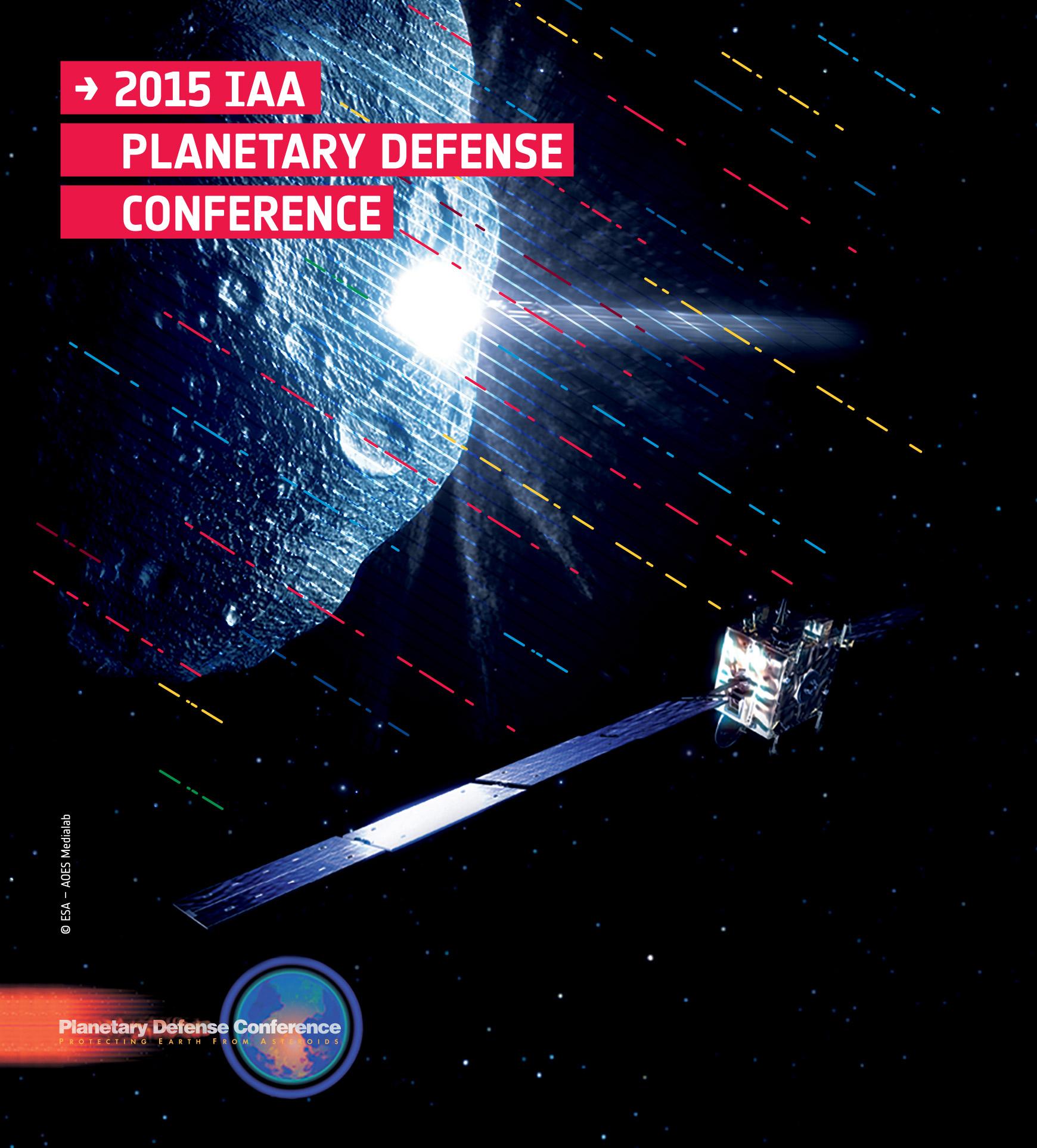 PDC 2015 13-17 April 2015, ESA/ESRIN, Frascati, Italy Credit: ESA - CC BY-SA IGO 3.0