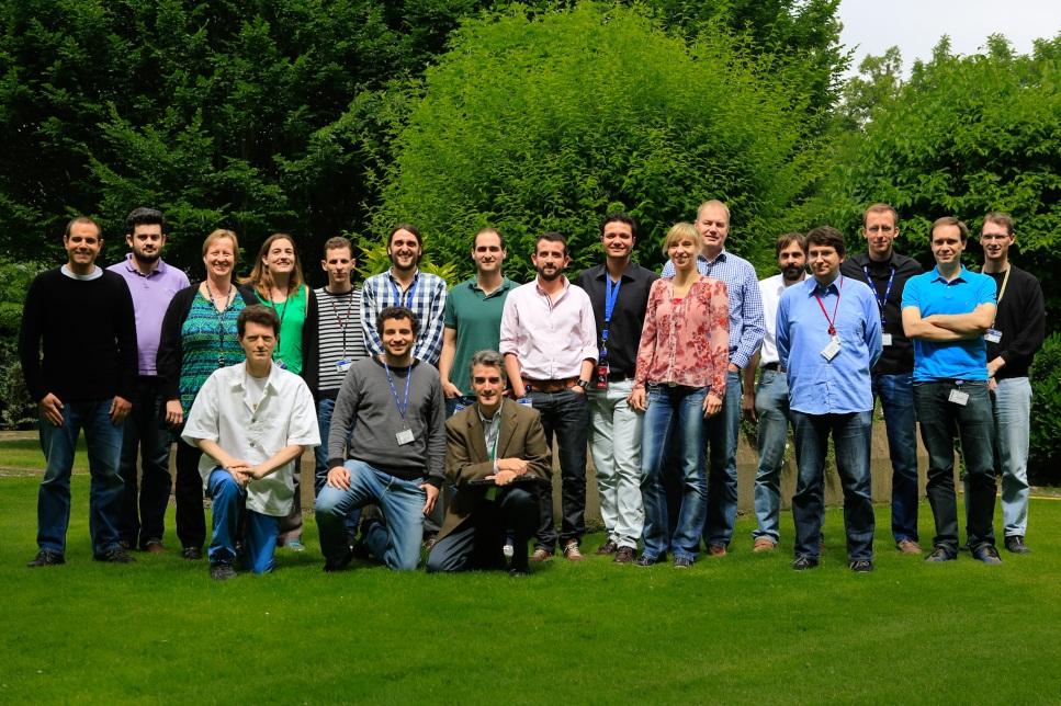 Sentinal-2 flight dynamics team Credit: ESA - CC BY-SA IGO 3.0