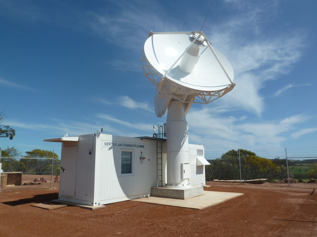 ESA's 4.5-m acquisition aid dish antenna at New Norcia tracking station, Western Australia Credit: ESA - CC BY-SA 3.0 IGO