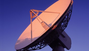 ESA Perth antenna in 2004 Credit: ESA/SpaceTerra
