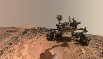 Curiosity selfie Credit: NASA/JPL-Caltech/MSSS