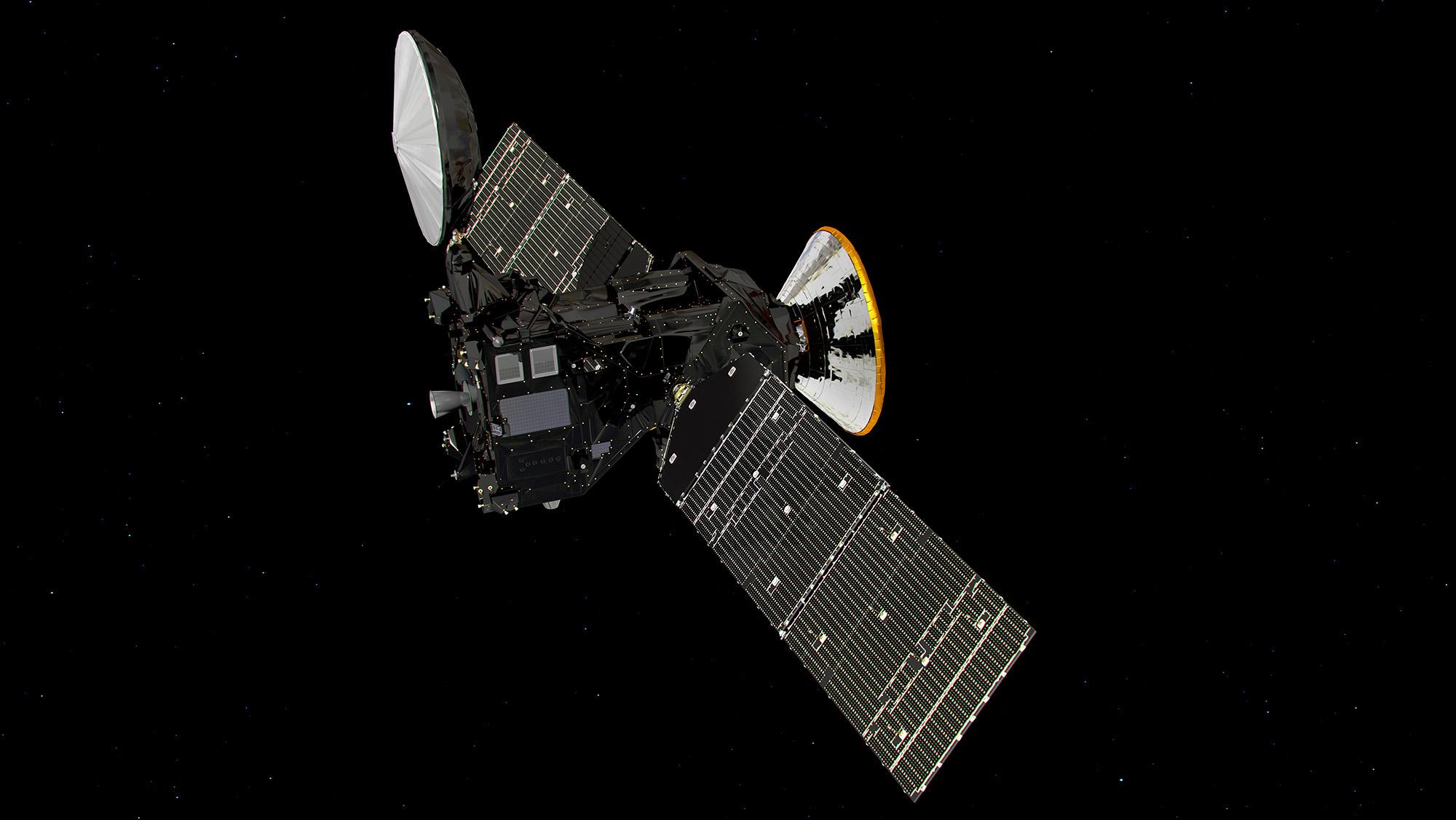 ExoMars/TGO cruise to Mars