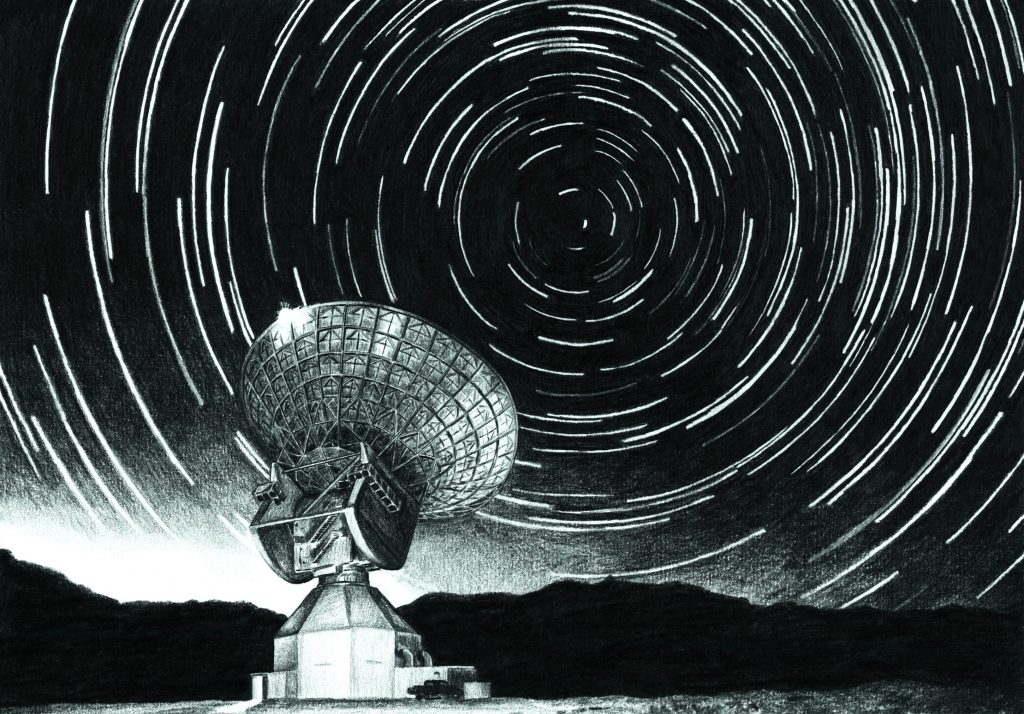 'A Simple Response...' is a publicly generated Interstellar radio message to be transmitted from Earth to the North Star in October 2016 via ESA's Cebreros deep space tracking station in Spain. Credit: P. Quast