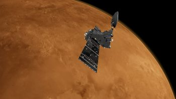 Trace Gas Orbiter at Mars Credit: ESA/ATG medialab