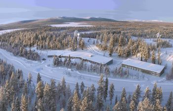 The Kiruna S- and X-band station supports ESA's CryoSat-2 and Sentinel-1A satellites, as well as other observation missions. The station is located at Salmijärvi, 38 km east of Kiruna, in northern Sweden. The station is equipped for tracking, telemetry and command operations as well as for reception, recording, processing and dissemination of data. Credit: ESA
