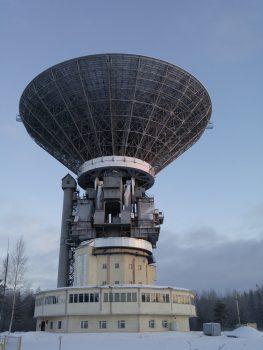 64m antenna Kalyazin Credit: ESA