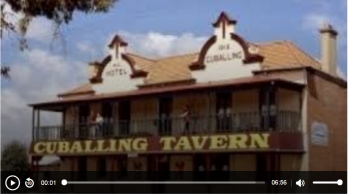 ABC audio report: Paranormal investigator claims to have recorded the voice of a ghost who haunts the Cuballing Tavern Credit: Australian Broadcasting Corp.