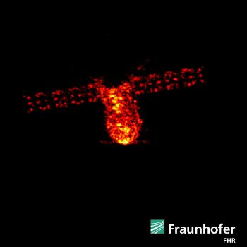 Tiangong-1 seen at an altitude of about 161 km by the powerful TIRA research radar operated by the Fraunhofer Institute for High Frequency Physics and Radar Techniques (FHR) near Bonn, Germany. Image acquired on the morning of 1 April 2018, during one of the craft's final orbits. Credit: Fraunhofer FHR