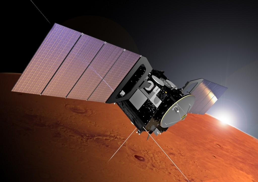 Mars Express Credit: ESA/Alex Lutkus