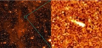 Rosetta's view of P/2010 A2