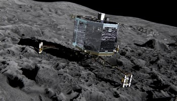 Rosetta's Philae lander Credits: ESA/ATG medialab