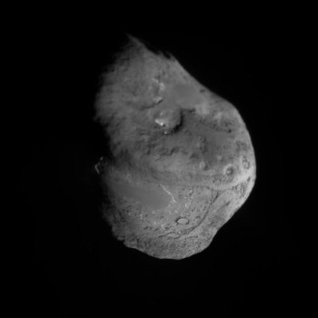Comet Tempel-1, by NASA's Deep Impact, in 2005