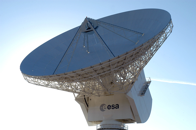 Cebreros 35m deep space antenna