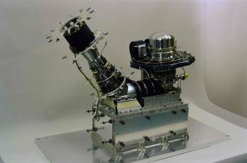 Rosina's double focusing mass spectrometer (DFMS). Credit: ESA/Rosetta/ROSINA/UBern/BIRA/LATMOS/LMM/IRAP/MPS/SwRI/TUB/UMich
