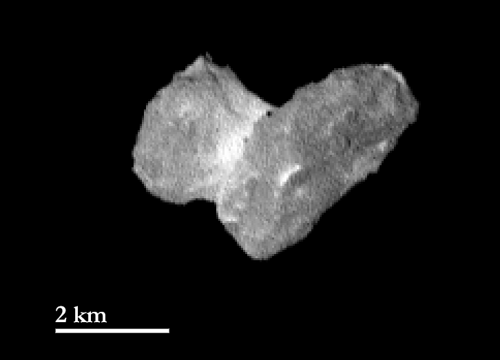 OSIRIS narrow angle camera view of 67P/C-G from a distance of 1950 km on 29 July 2014. Credits: ESA/Rosetta/MPS for OSIRIS Team MPS/UPD/LAM/IAA/SSO/INTA/UPM/DASP/IDA