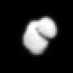 Comet 67P/C-G imaged on 14 July 2014 from a distance of approximately 12 000 km. Credits: ESA/Rosetta/MPS for OSIRIS Team MPS/UPD/LAM/IAA/SSO/INTA/UPM/DASP/IDA