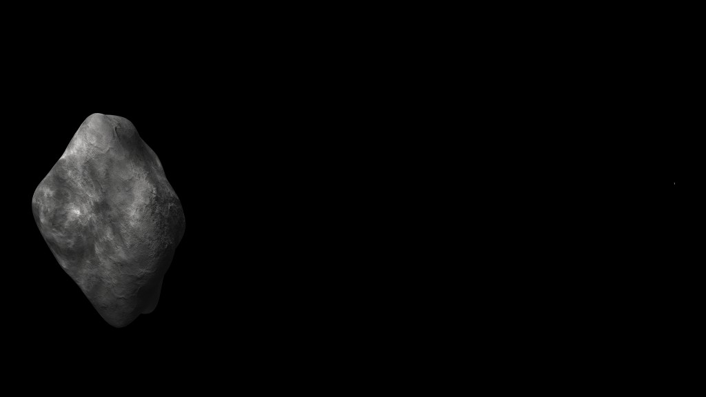 Can you spot Rosetta in this scale image?