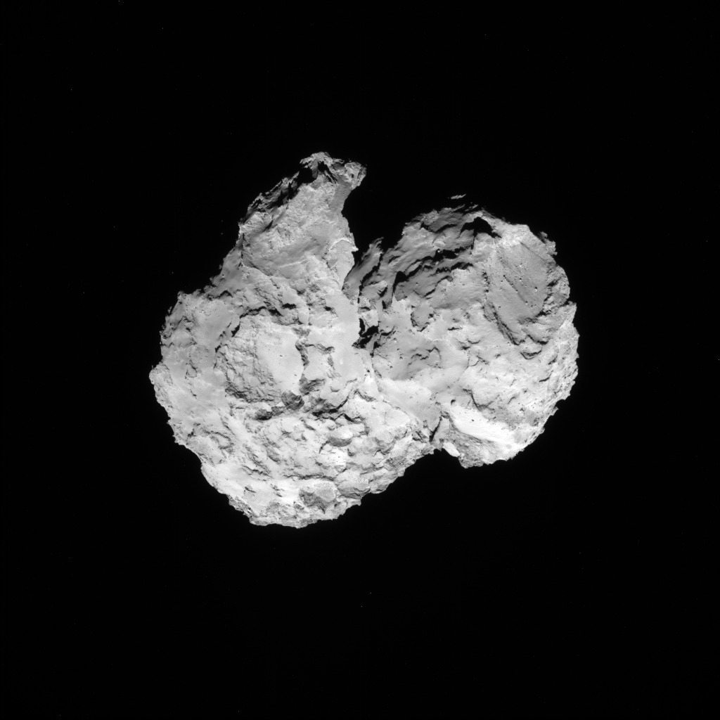 Rosetta : Mission autour de la comète 67P/Churyumov-Gerasimenko  - Page 3 ROSETTA_NAVCAM_20140807