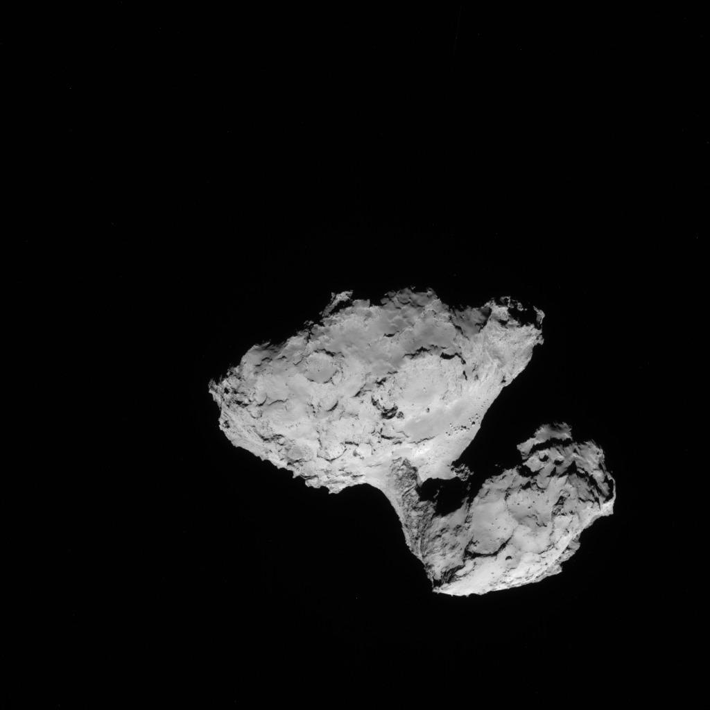 Rosetta : Mission autour de la comète 67P/Churyumov-Gerasimenko  - Page 3 ROSETTA_NAVCAM_20140809