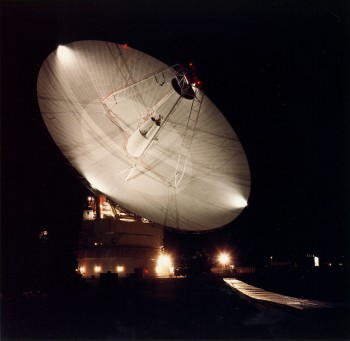 DSS-14 70m station Madrid. Credit: NASA