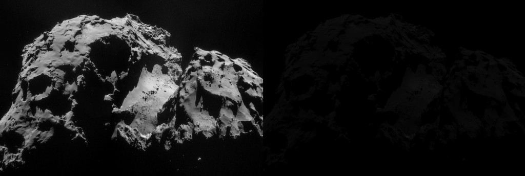 Comet_on_24_September_NavCam_original_plus_scaled