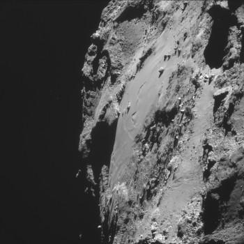 ESA_Rosetta_NAVCAM_141008_A