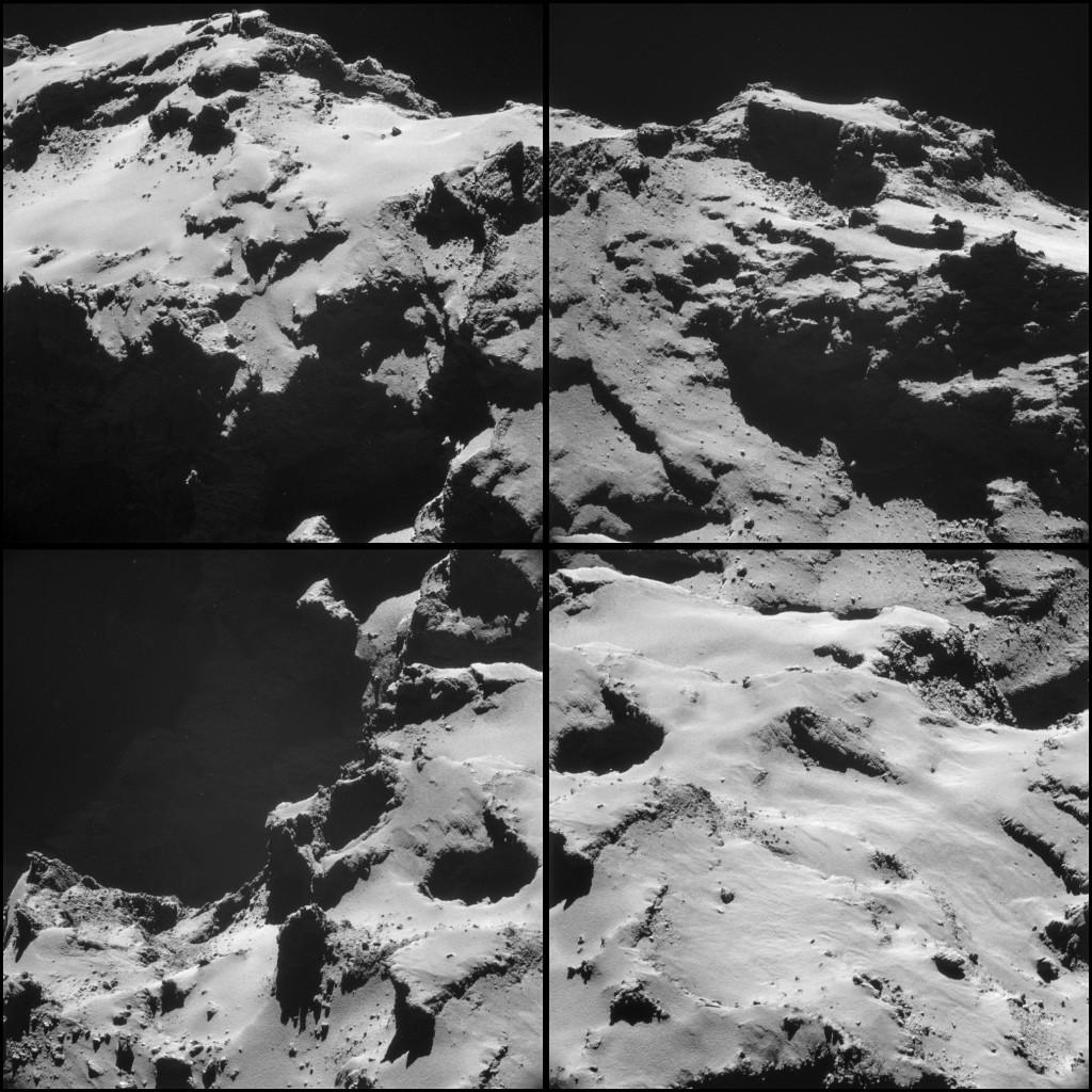 ESA_Rosetta_NAVCAM_141015_montage