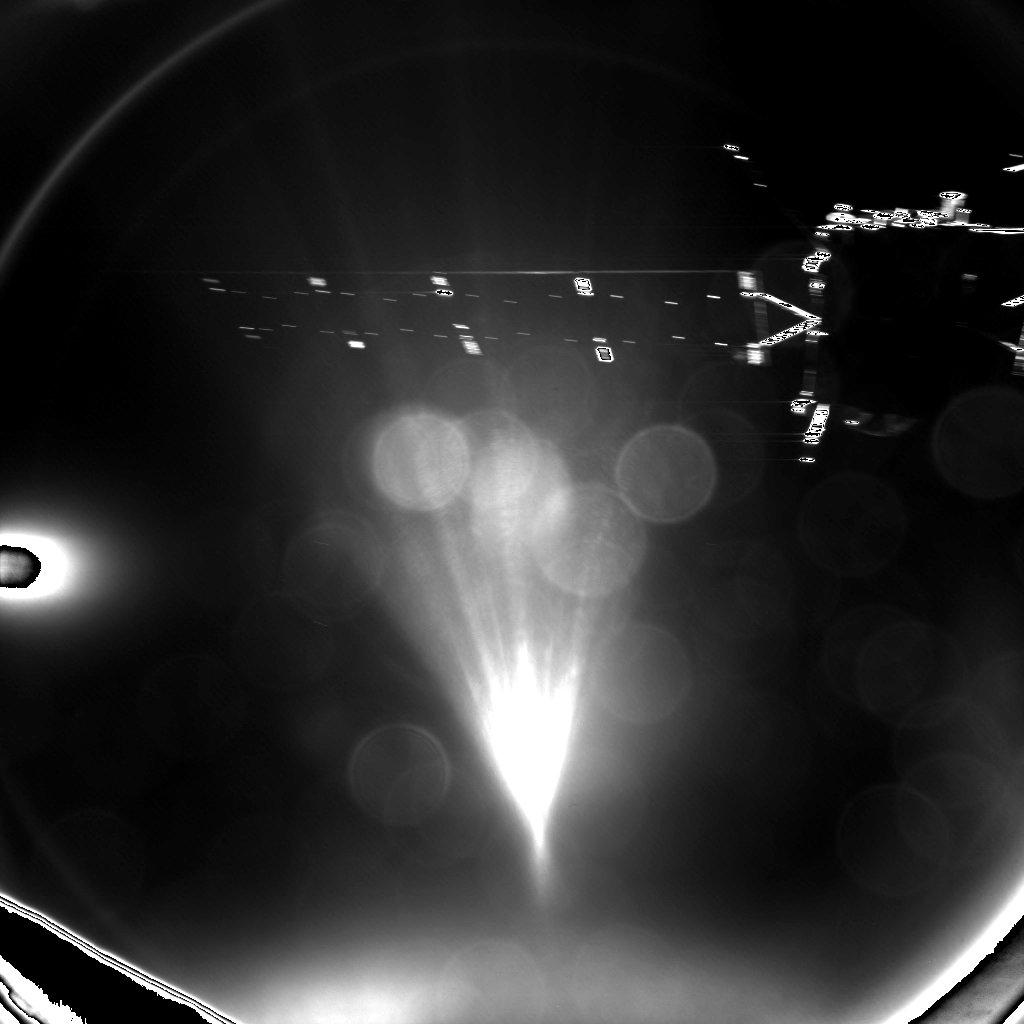 Rosetta Latest Images Parting Image of Rosetta