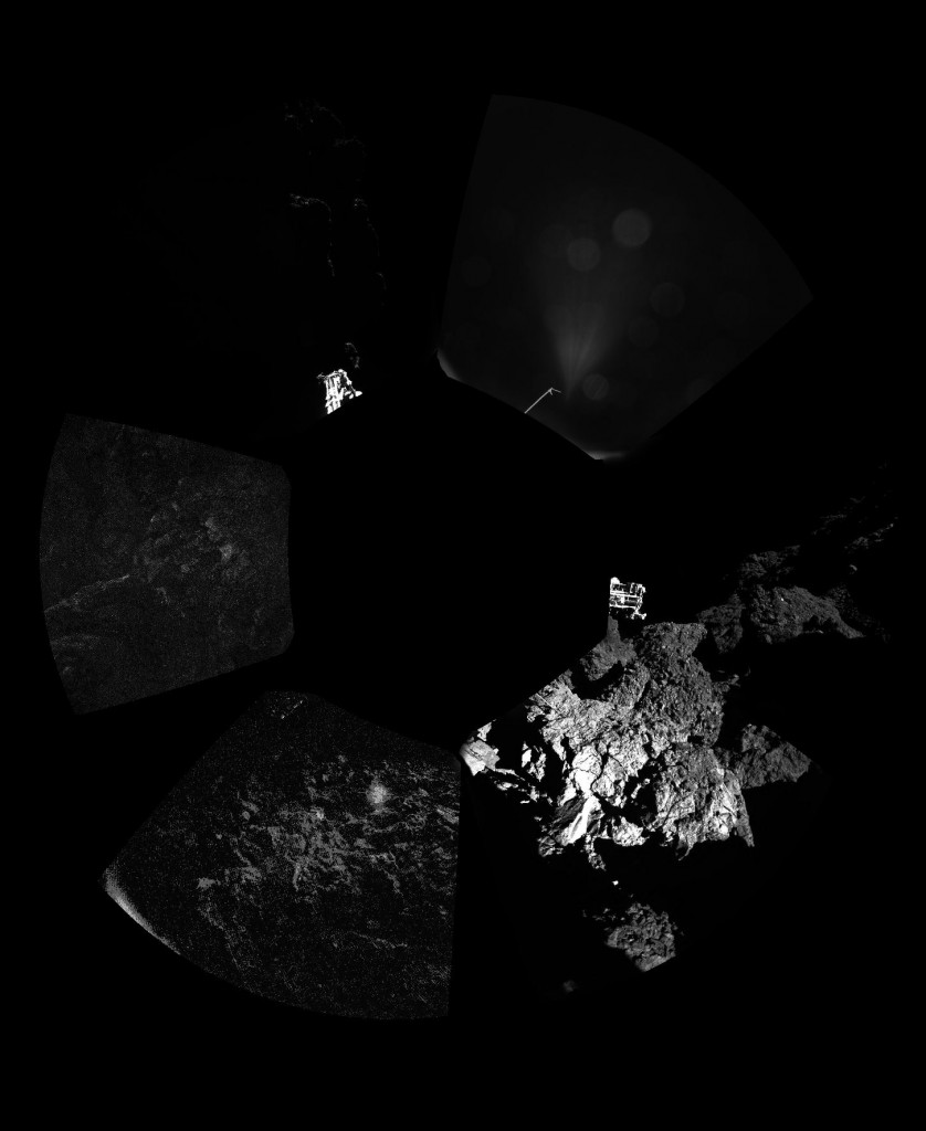 ESA_Rosetta_Philae_CIVA_FirstPanoramic