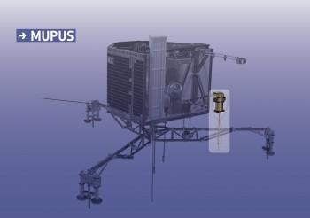 Focus on MUPUS. Credits: ESA/ATG medialab