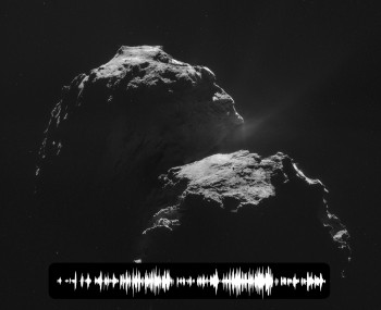 El sonido del Cometa 67P/Churyumov-Gerasimenko Sound_comet2-350x285