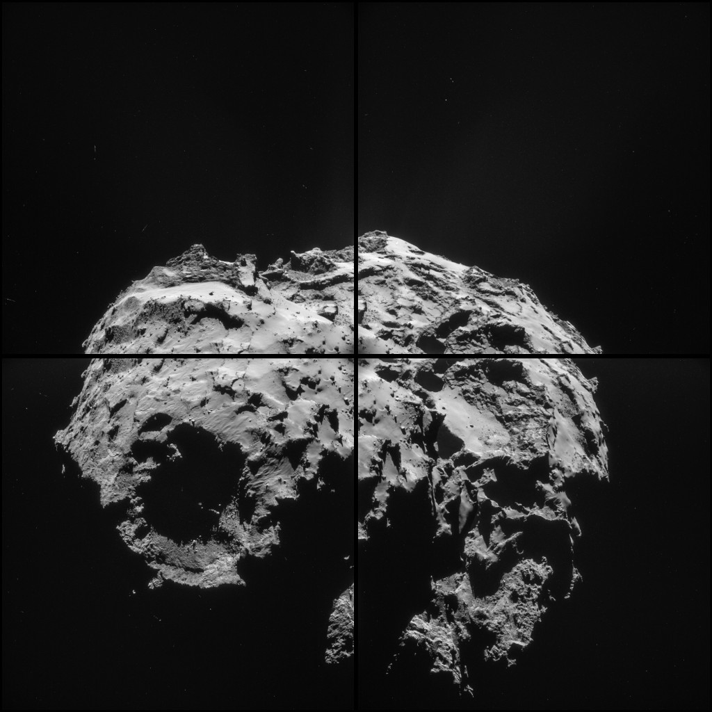 ESA_Rosetta_NAVCAM_141202_montage
