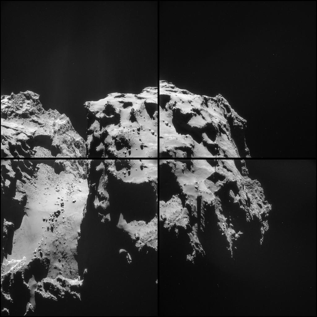 ESA_Rosetta_NAVCAM_141209_montage