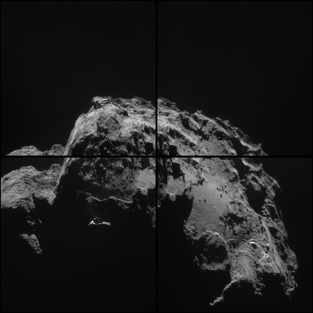 ESA_Rosetta_NAVCAM_20150103_montage