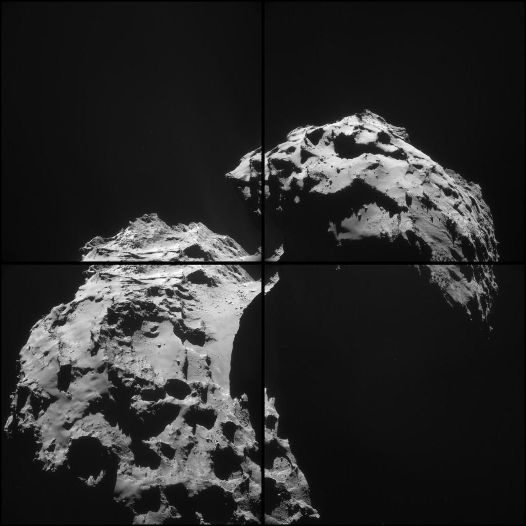 ESA_Rosetta_NAVCAM_20150122_montage