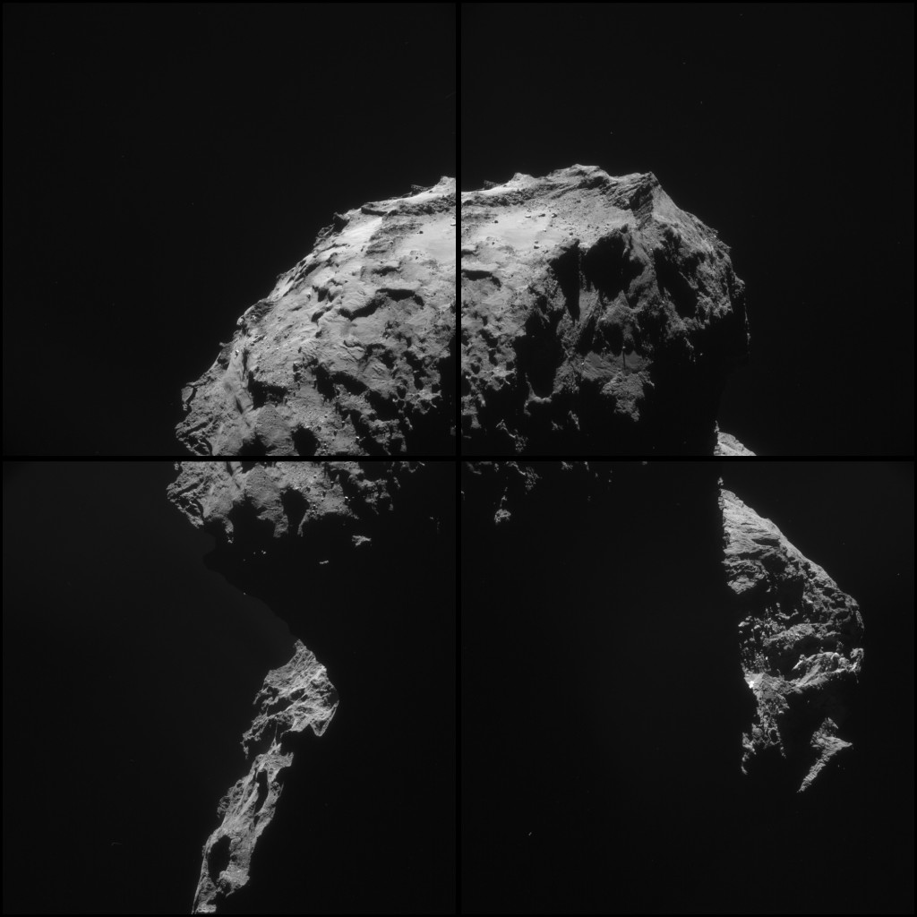 ESA_Rosetta__NAVCAM_20150118_montage