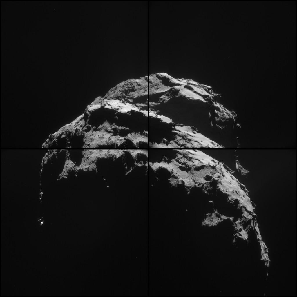 ESA_Rosetta_NavCam_20150126_Montage