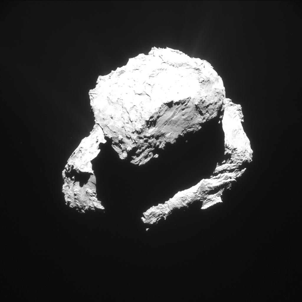 ESA_Rosetta_NAVCAM_20150309