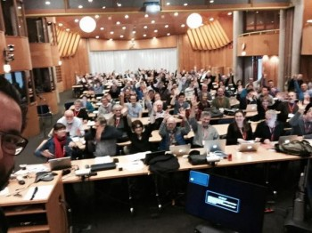 The 40th Rosetta SWT – photo tweeted by Matt Taylor
