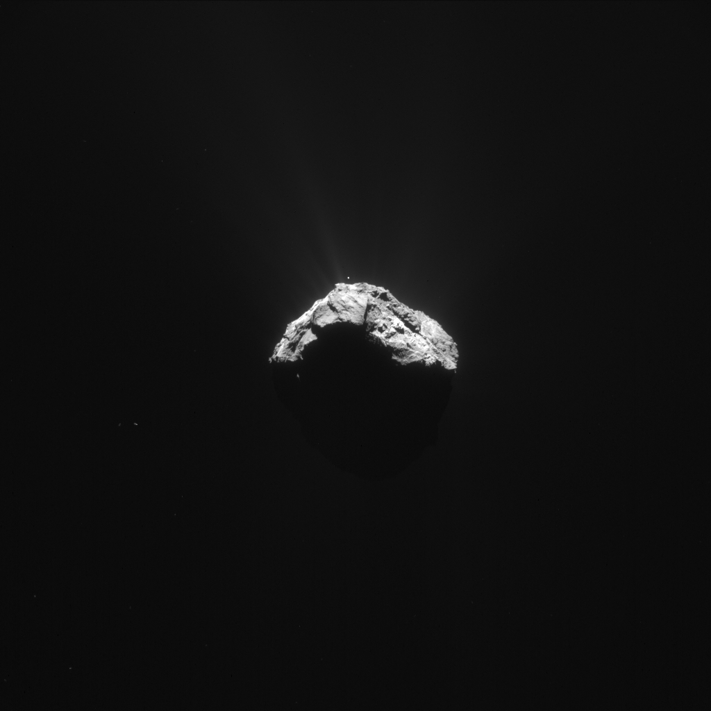 """Rosetta blog: """"Crescent comet"""" – CometWatch 15 and 16 ..."""