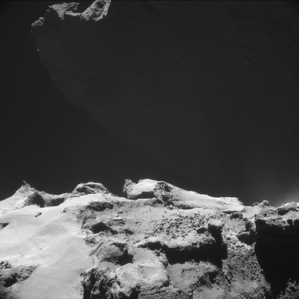 ESA_Rosetta_NAVCAM_20141023