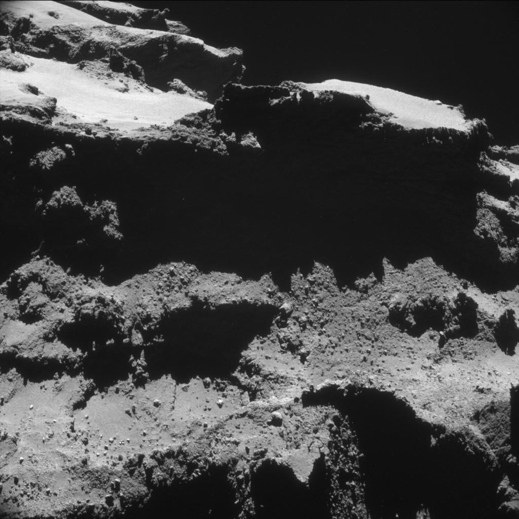 ESA_Rosetta_NavCam_20141027