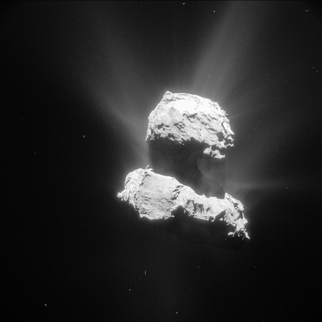 CometWatch 26 April | Rosetta - ESA's comet chaser
