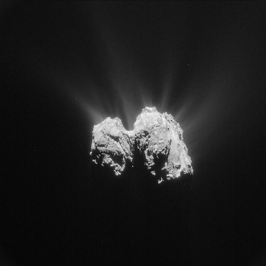 ESA_Rosetta_NavCam_20150503_LR