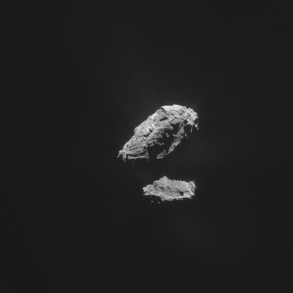 ESA_Rosetta_NavCam_20150523