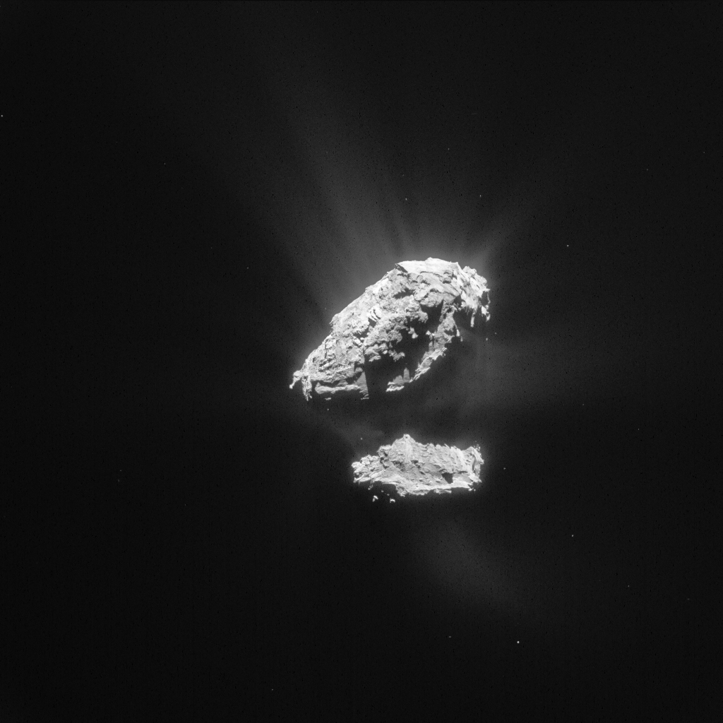 ESA_Rosetta_NavCam_20150523_LR