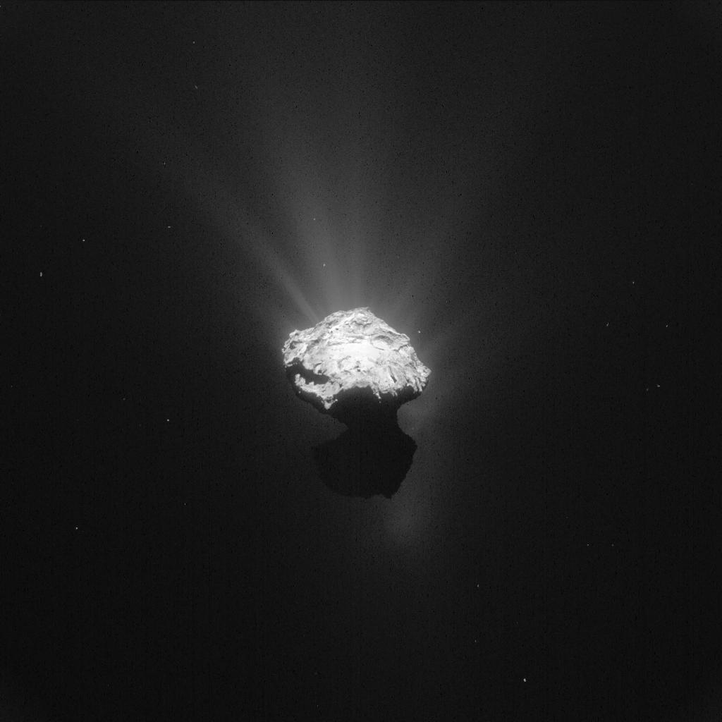 ESA_Rosetta_NavCam_20150607_LR