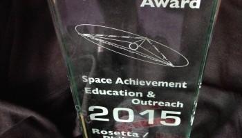 The Sir Arthur Clarke Award for Space Achievement – Education and Outreach, 2015