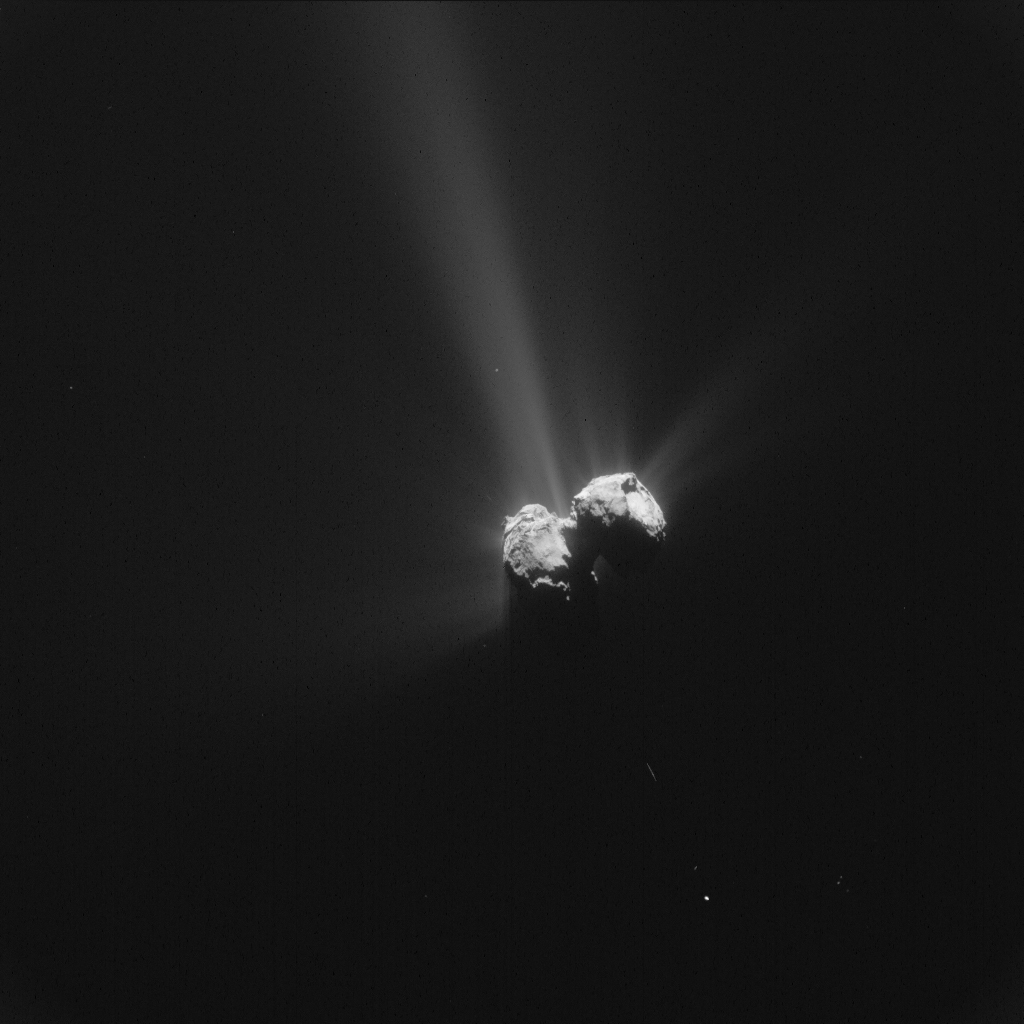 ESA_Rosetta_NavCam_20150806_LR