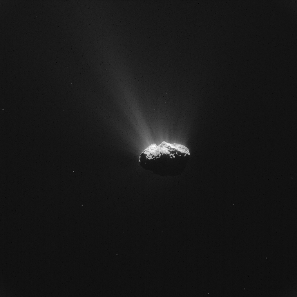 ESA_Rosetta_NavCam_20150812a_LR